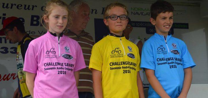 podium Regnéville challenge
